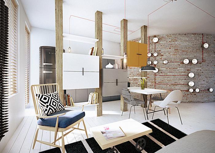 mieszkanie 55m2 –  Wrocław