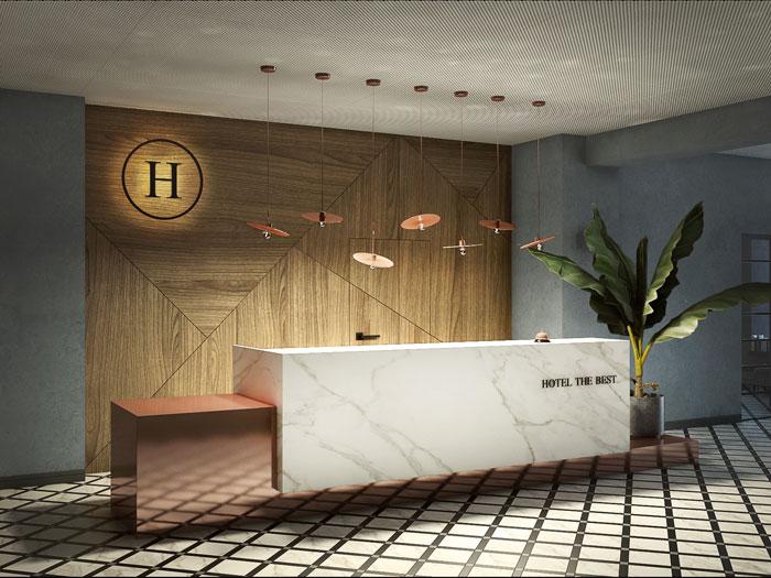 Hotel- koncepcja, Wrocław